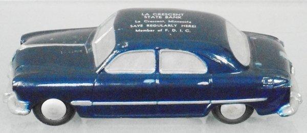 BANTHRICO 1950 FORD SEDAN AUTO BANK PROMO