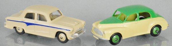 3 DINKY AUTOS