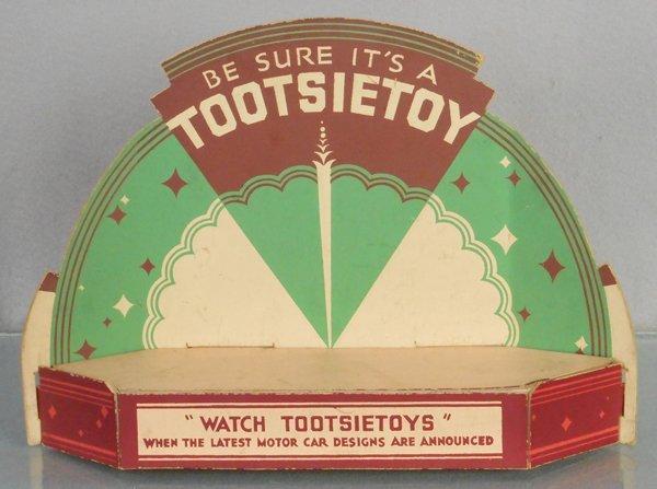 TOOTSIETOY 1935 COUNTER DISPLAY