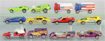 12 HOT WHEELS RED LINES