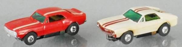 2 TYCO SLOT CARS
