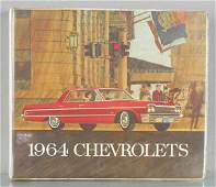 1964 CHEVROLET DEALERONLY CATALOG