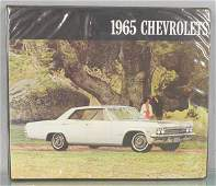 1965 CHEVROLET DEALERONLY CATALOG