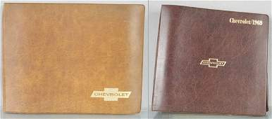 2 CHEVROLET DEALERONLY CATALOGS