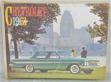 1961 CHEVROLET DEALERONLY CATALOG