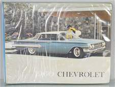 1960 CHEVROLET DEALERONLY CATALOG