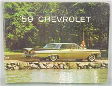 1959 CHEVROLET DEALERONLY CATALOG
