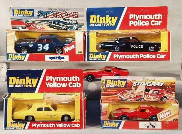 001: 5 DINKY AUTOS