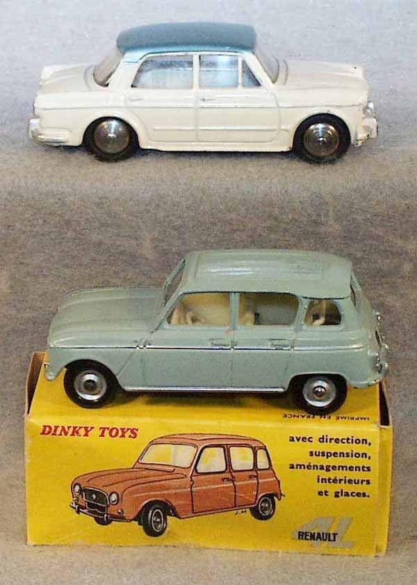 006: 2 FRENCH DINKY AUTOS