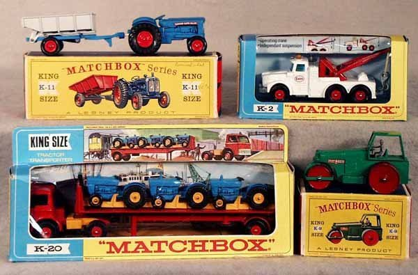 022: 4 MATCHBOX KINGSIZE