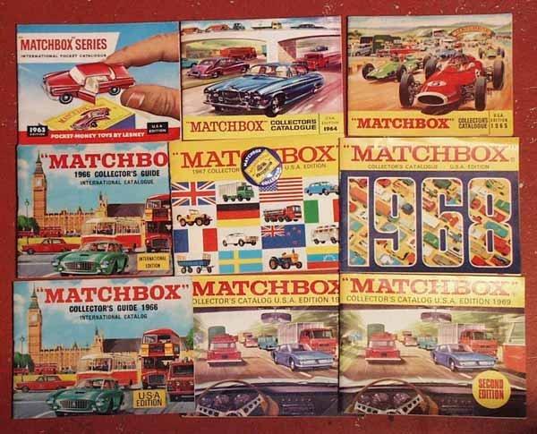 023: 13 MATCHBOX CATALOGS