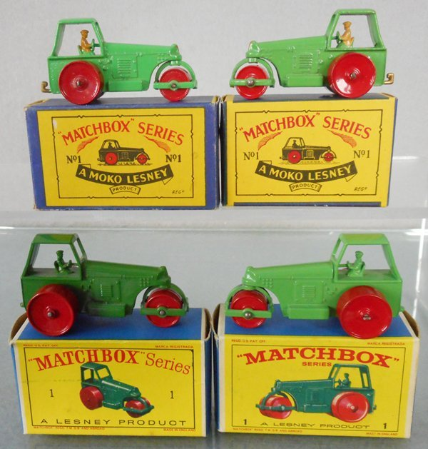 4 MATCHBOX ROAD ROLLERS