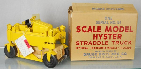 DRUGE BROS. 51 HYSTER STRADDLE TRUCK