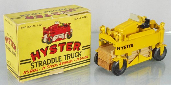 DRUGE BROS. 50 HYSTER STRADDLE TRUCK
