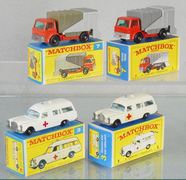 4 MATCHBOX VEHICLES