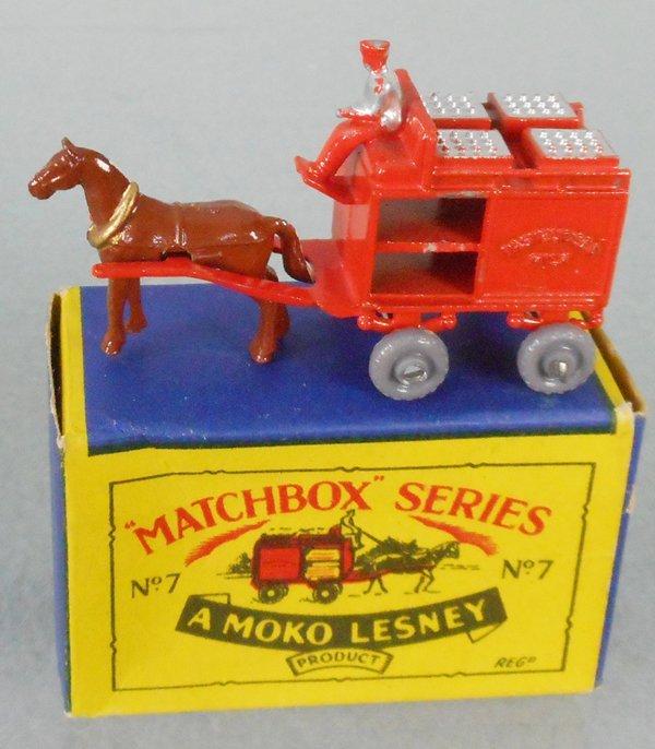 MATCHBOX 7A1 HORSE DRAWN MILK FLOAT