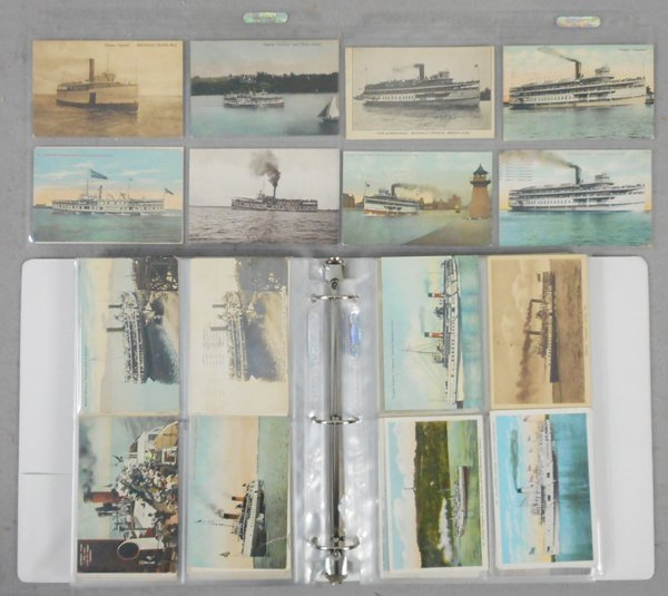 285 GREAT LAKES SHIP POST CARDS