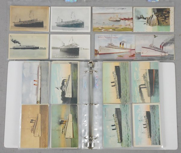 230 GREAT LAKES SHIP POSTCARDS