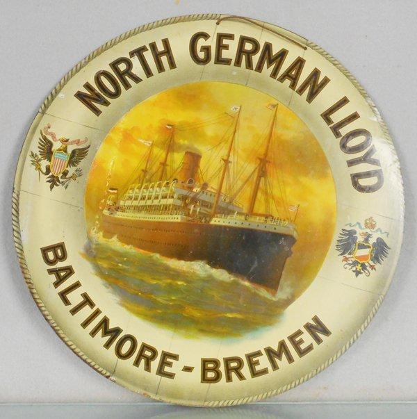 NORTH GERMAN LLOYD SIGN