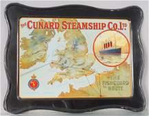 CUNARD STEAMSHIP CO SIGN
