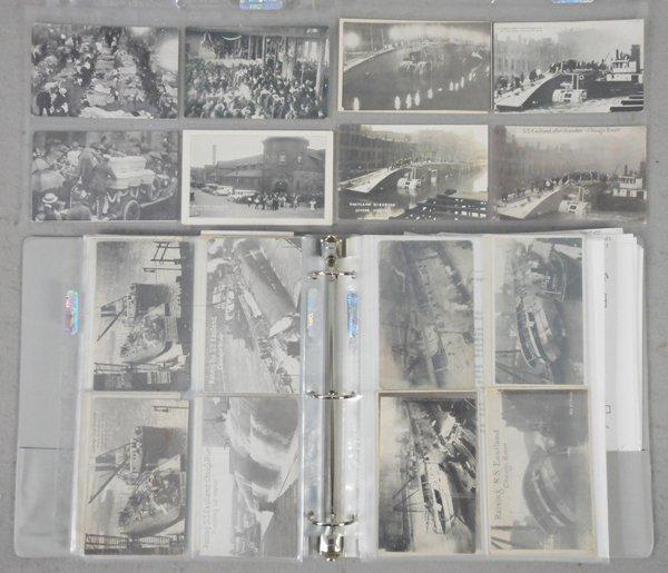 97 EASTLAND DISASTER POSTCARDS