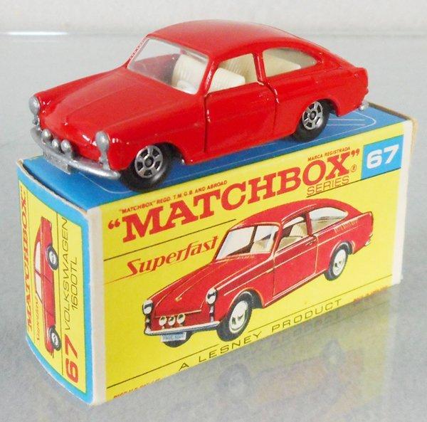 MATCHBOX SUPERFAST 67A1 VOLKSWAGEN 1600TL