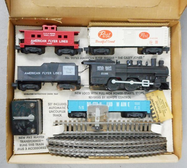 AMERICAN FLYER 20763 CASEY JONES TRAIN SET