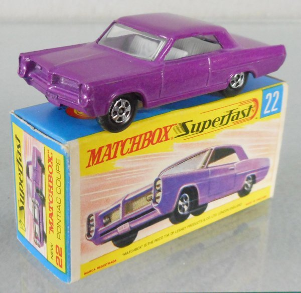 MATCHBOX SUPERFAST 22A3 PONTIAC GRAND PRIX