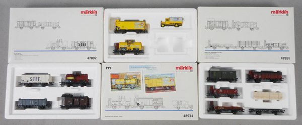 3 MARKLIN CAR SETS