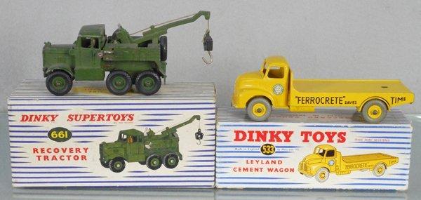 2 DINKY TRUCKS
