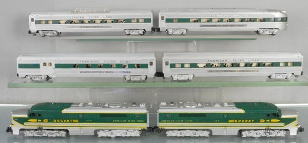 AMERICAN FLYER 5570-H ROCKET TRAIN SET