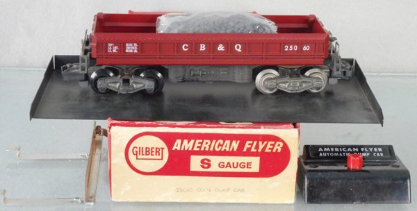 AMERICAN FLYER 25060 COAL DUMP CAR