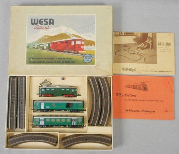 WESA-LILIPUT 424 SWISS TRAIN SET