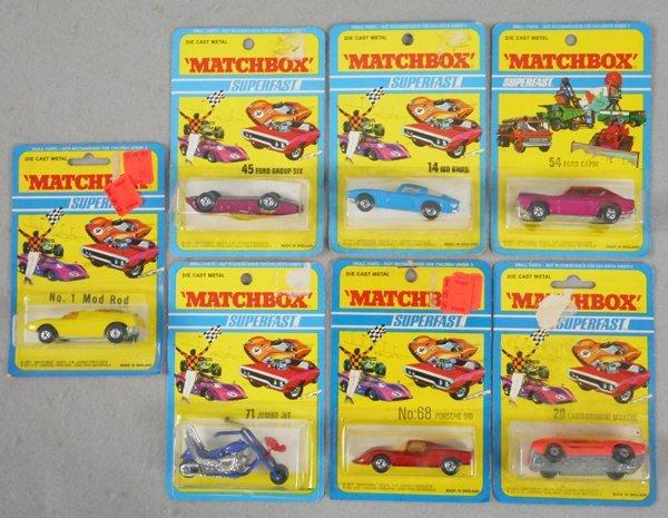 7 MATCHBOX SUPERFASTS