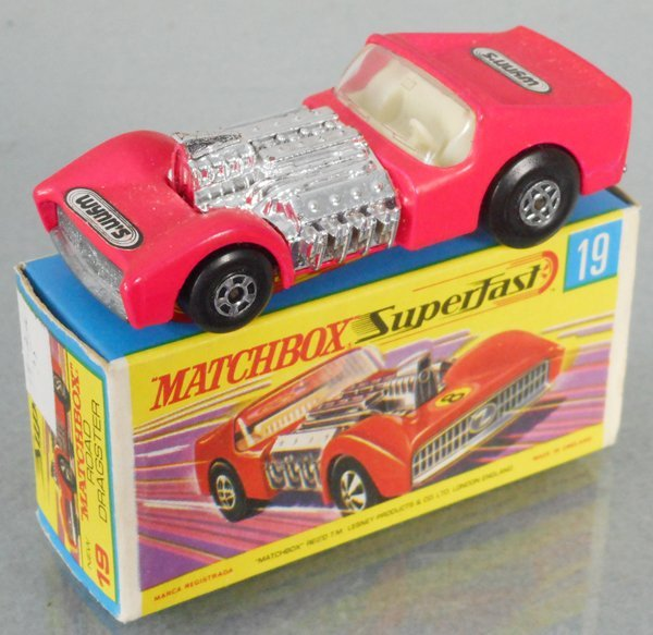 MATCHBOX SUPERFAST 19B9 ROAD DRAGSTER