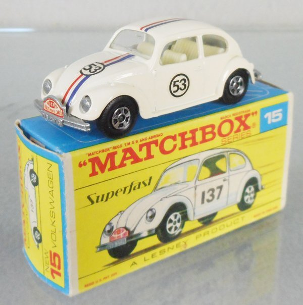 MATCHBOX SUPERFAST 15A HERBIE THE LOVE BUG VW