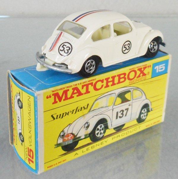 MATCHBOX SUPERFAST 15A HERBIE THE LOVE BUG VW - 2