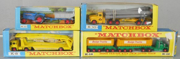 3 MATCHBOX KING SIZE VEHICLES