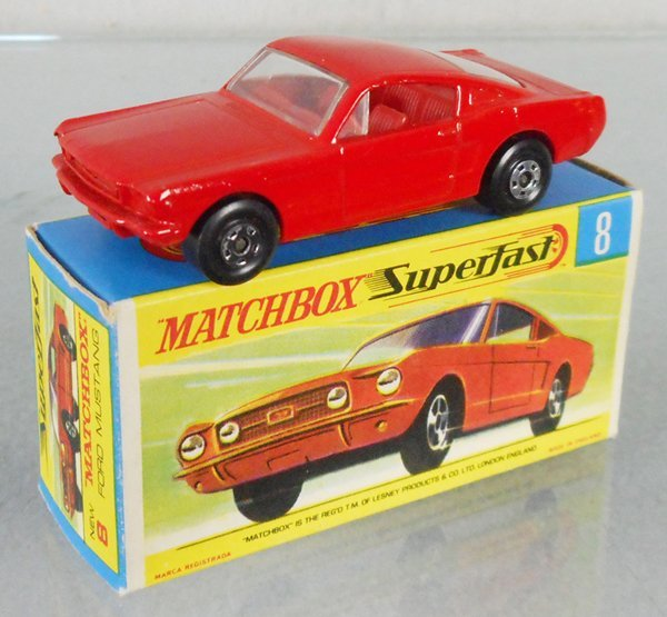 MATCHBOX SUPERFAST 8A2 FORD MUSTANG FASTBACK