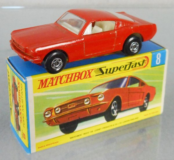 MATCHBOX SUPERFAST 8A5 FORD MUSTANG FASTBACK