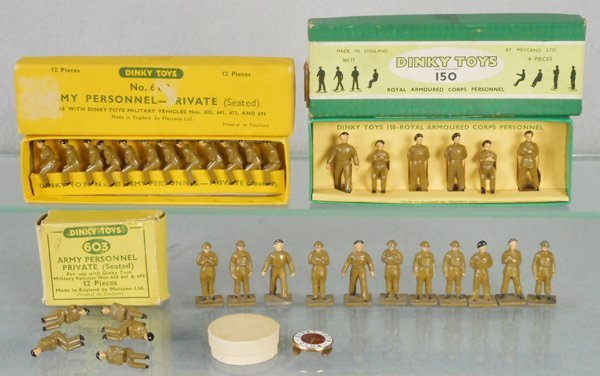 DINKY PERSONNEL SETS