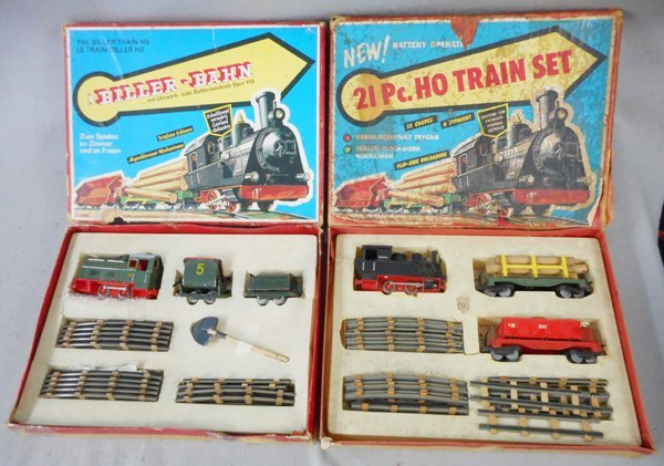 2 BILLER-BAHN TRAIN SET