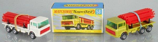 2 MATCHBOX SUPERFAST DAF GIRDER TRUCKS