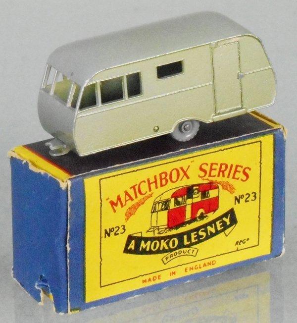 MATCHBOX 23C1 BLUEBIRD DAUPHINE TRAILER