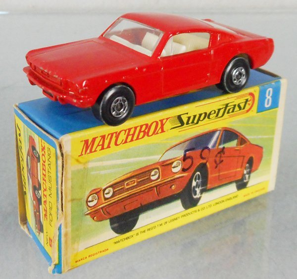 MATCHBOX SUPERFAST 8A4 FORD MUSTANG FASTBACK