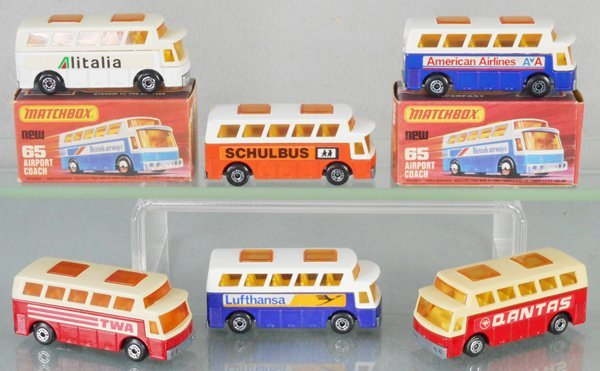 6 MATCHBOX SUPERFAST AIRPORT COACHES
