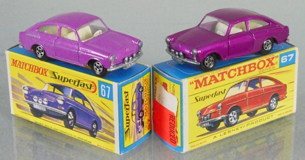 2 MATCHBOX SUPERFAST VOLKSWAGEN 1600TL