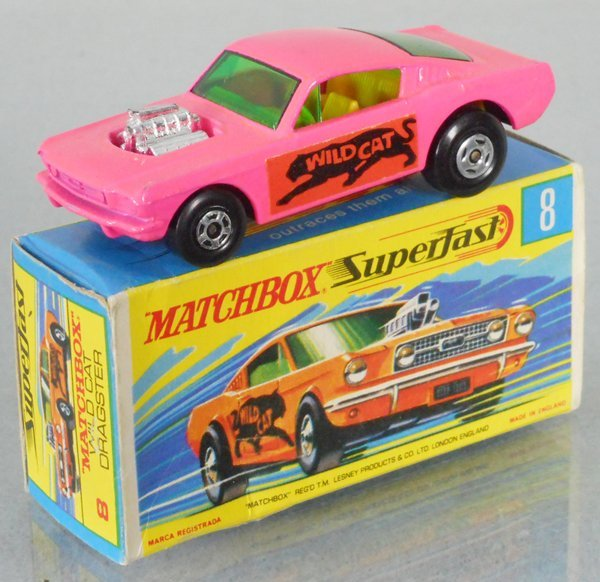 MATCHBOX SUPERFAST 8B2 WILDCAR DRAGSTER