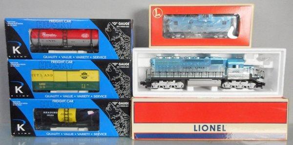 LIONEL & K-LINE TRAIN SET