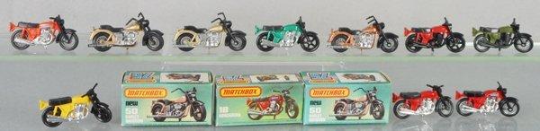 10 MATCHBOX SUPERFAST MOTORCYCLES